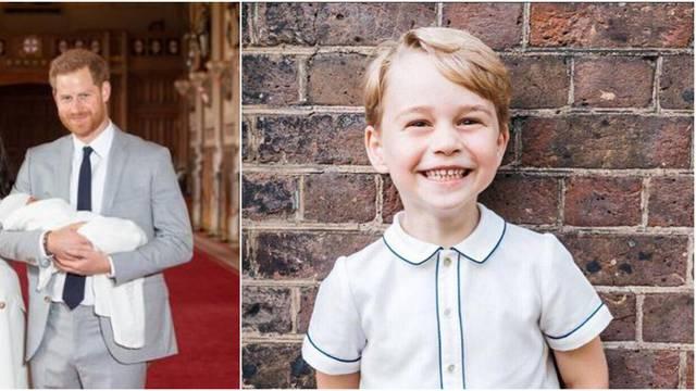 Princ George lani se predstavio kao Archie: 'Znao je prije svih'