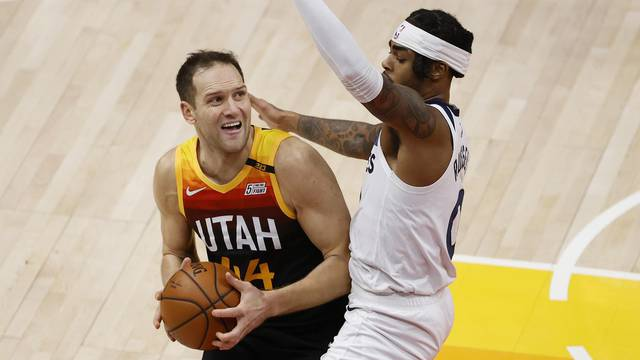NBA: Minnesota Timberwolves at Utah Jazz