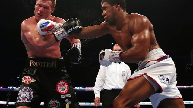Anthony Joshua v Alexander Povetkin - Wembley Stadium