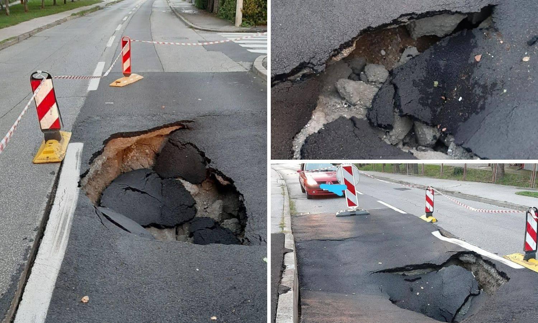 Zagreb: Zakrpali su rupu u cesti, za tri tjedna otvorila se nova