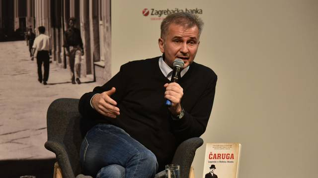 Boris Rašeta u Puli predstavio svoju knjigu Čaruga
