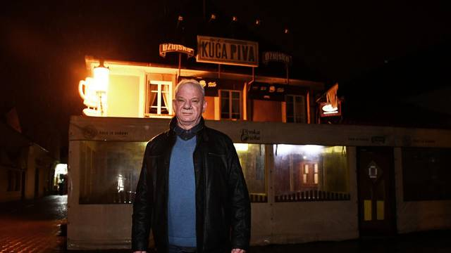 Slavonski Brod -  Željko Špalat vlasnik restorana Kuća piva.