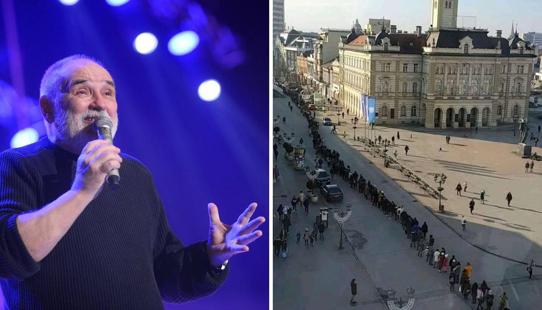 Svi žele na Balaševića: Nastao red za karte, tisuću ljudi čekalo