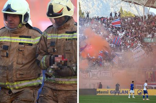 Hajduku stigla kazna: Poljud je zatvoren na četiri utakmice...