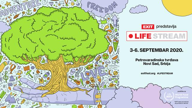EXIT Festival sa UN-om sa Petrovaradinske tvrđave lansira projekt Life Stream!