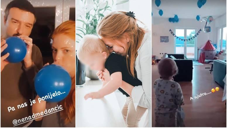 Janjić iznenadila sinčića, puhala balone: Da me imaš dok služim