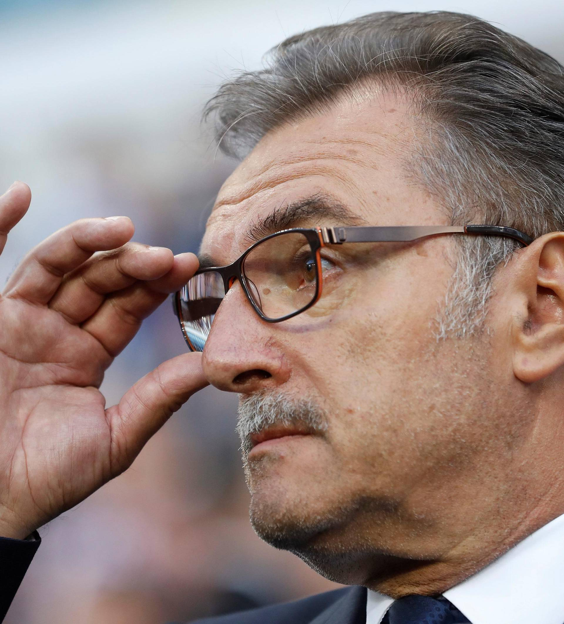 FILE PHOTO: Croatia head coach Ante Cacic