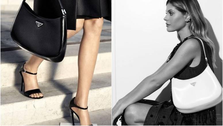 Nova IT torba za kraj godine je super minimalistička Prada Cleo