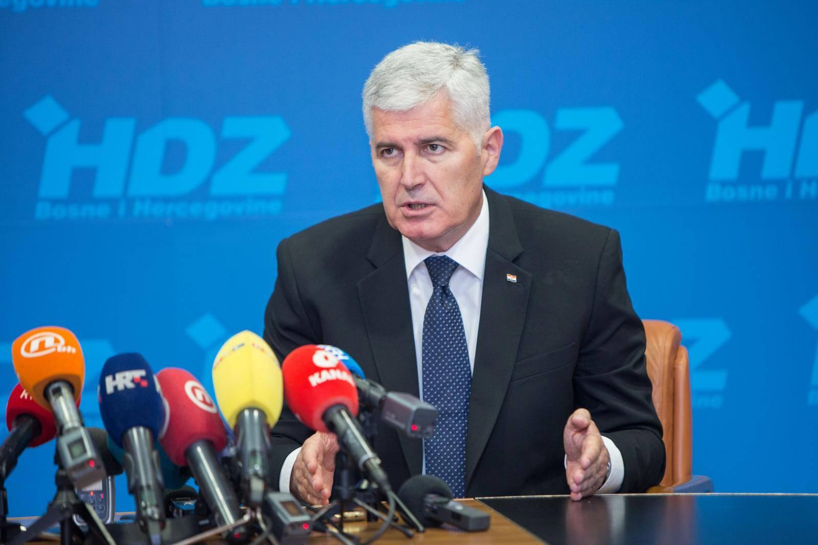 Mostar: Izjave nakon sastanka  Dragana Čovića i Andreja Plenkovića