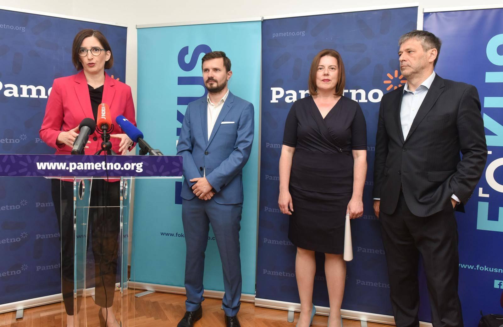 Zagreb: Stranke Pametno i FOKUS predstavile nove koalicijske partnere za predstojeće parlamentarne izbore
