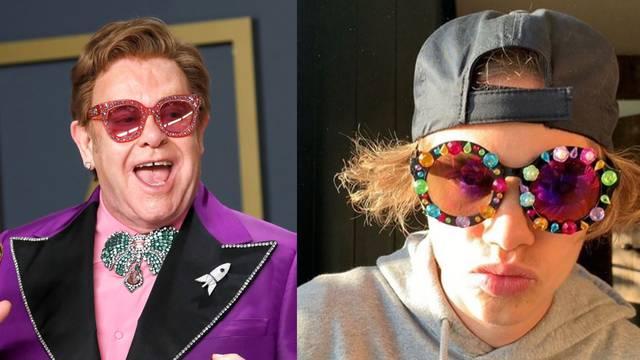 Romeo Beckham inspirira se stilom svog kuma Elton Johna