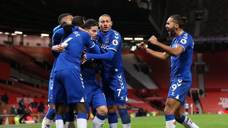 Još jedna subotnja drama: Everton zabio Unitedu gol za izjednačenje u nadoknadi...
