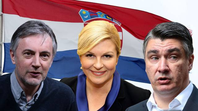 Milanović ima 28,69%, Kolinda 25,63%, a Škoro 24,26 posto!