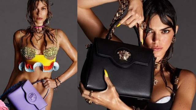 Hit torbice: Hailey i Kendall su zvijezde nove Versace kampanje