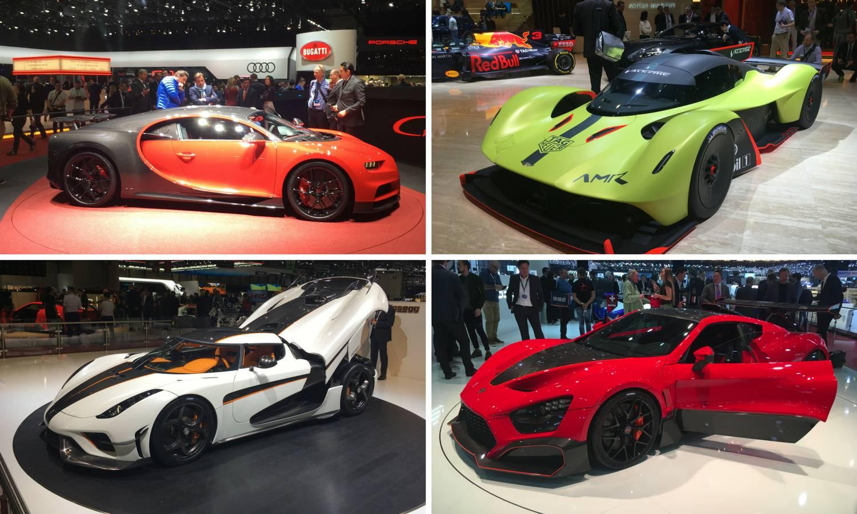 Ovo su najbolji, najbrži i najluđi auti koje smo vidjeli u Ženevi