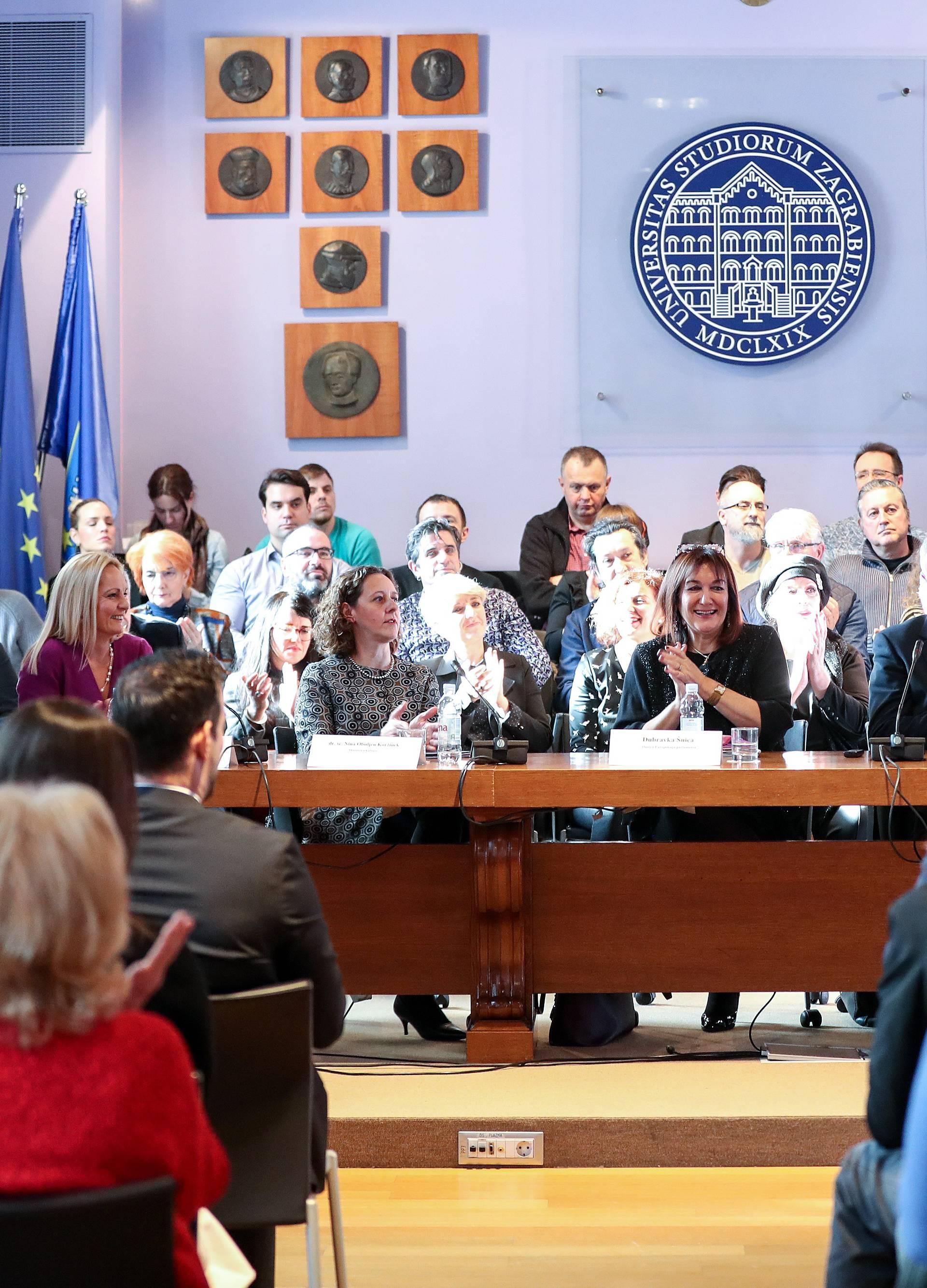 """Zagreb: Održana panel rasprava """"Direktiva o autorskom pravu na Jedinstvenom digitalnom tržištu EU"""""""