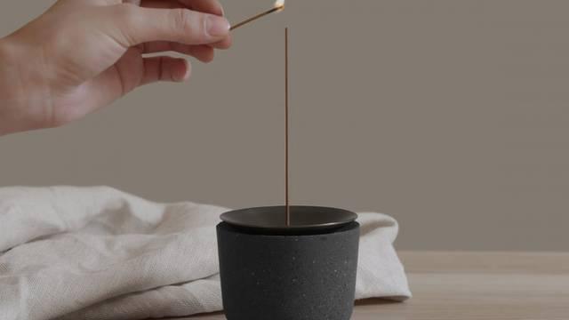 Inspiriran vulkanom: Držač za mirisne štapiće koji ima priču