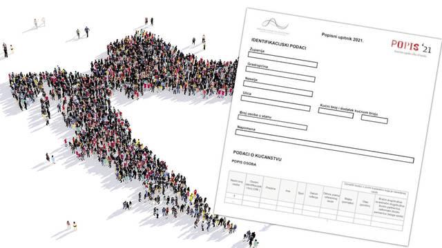 Rok za popis stanovništva je produžen do 29. listopada