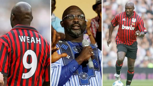 Weah, povedi nas: Bivša Zlatna lopta novi predsjednik Liberije!
