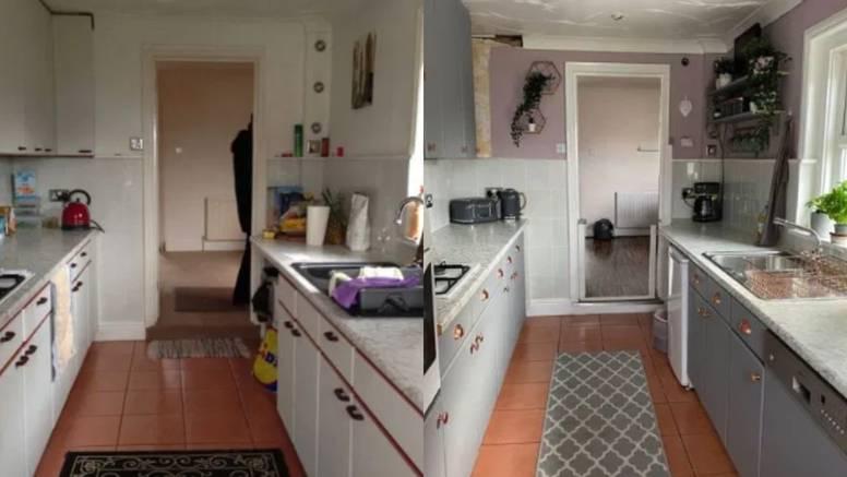 DIY preuređenje: Nova kuhinja sa svježom bojom i par sitnica