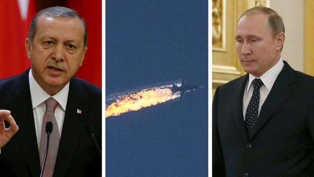 Erdogan se ispričao Putinu, ali neće platiti odštetu za avion