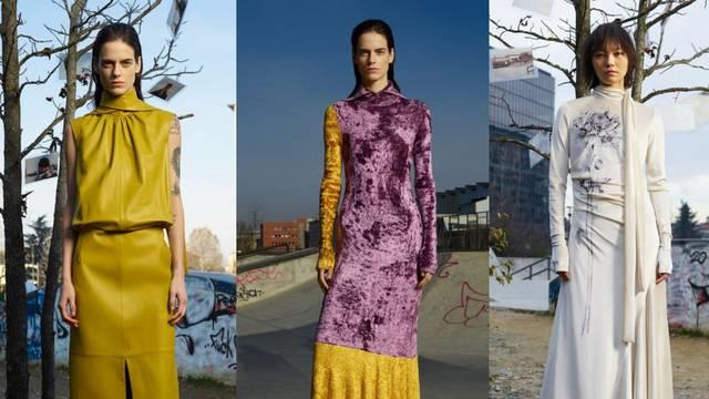 Sportmax ima odlične haljine: Od kožnatih do baršunastih
