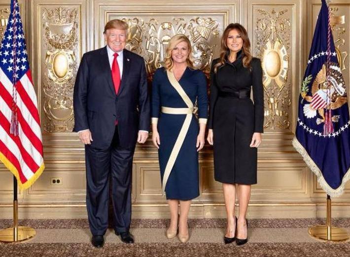 Rasprodala se: Svi žele imati haljinu kakvu je nosila Kolinda