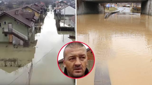 'Ljudi nisu ni znali za poplavu. Budio sam ih i tjerao iz kuća...'