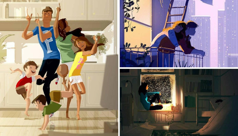 Male trenutke on je pretvorio u umjetnost: Ljubav je inspiracija