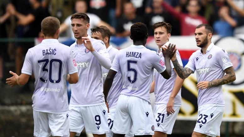 Hajduk nakon muke pobijedio  u Petrinji, Inter u Poreču zabio 7