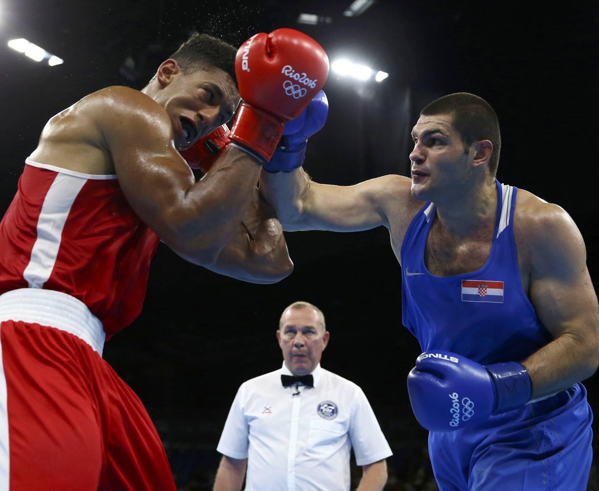 Boxing - Men's Super Heavy (+91kg) Semifinals Bout 262