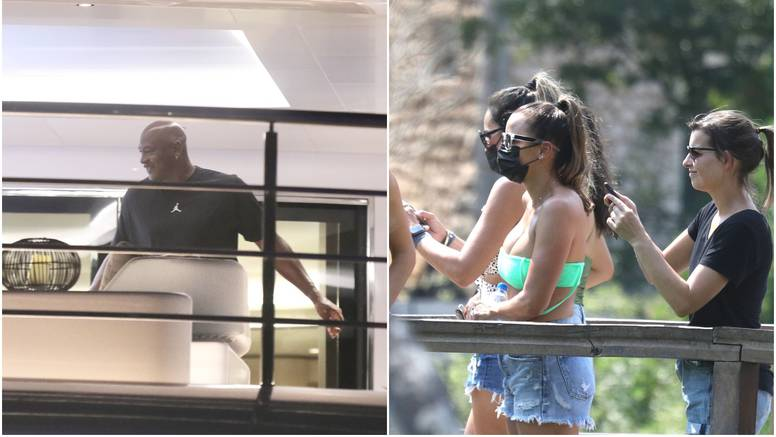 Dok Michael Jordan odmara na jahti, njegova supruga Yvette je s prijateljima posjetila NP Krku