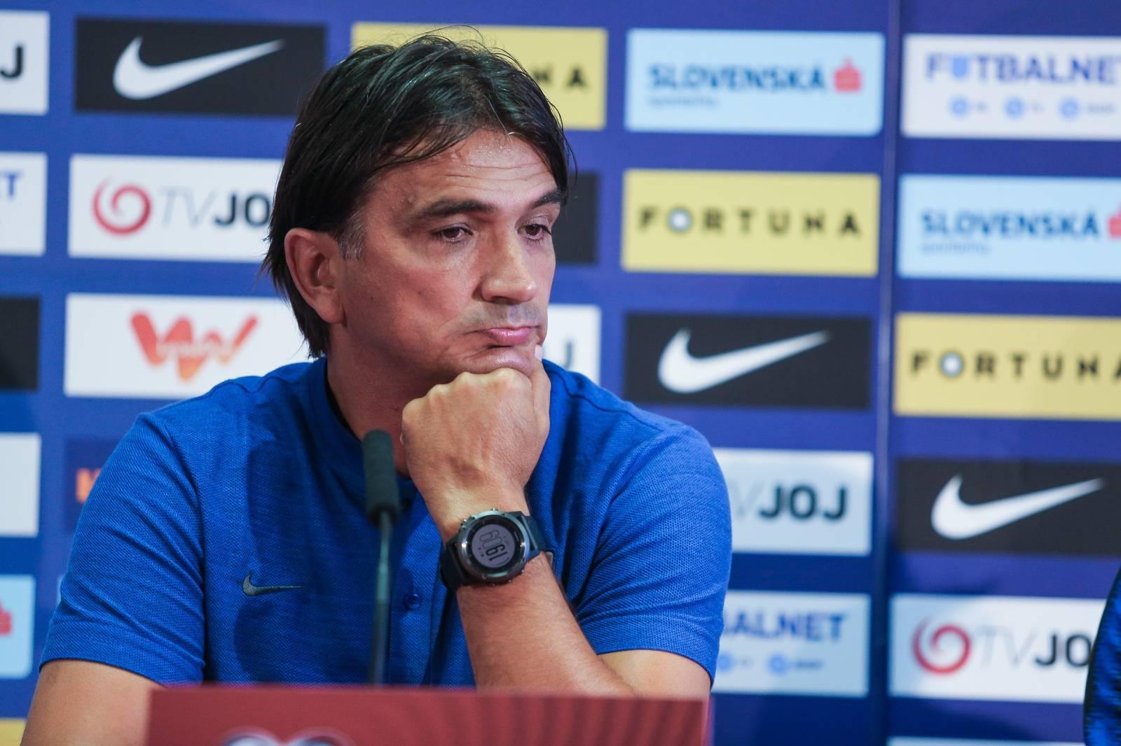 Trnava: Dalić i Modrić na konferenciji uoči utakmice protiv Slovačke