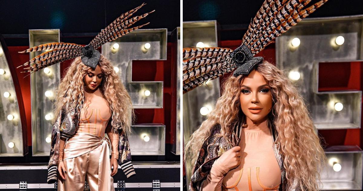 Šuput šokirala outfitom u prvoj epizodi 'Supertalenta' na glavi nosila šeširić s dugačkim perjem