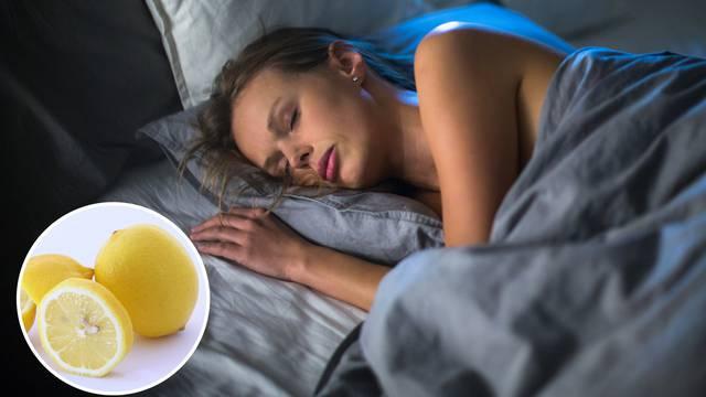 Evo što će se dogoditi stavite li limun navečer pokraj kreveta