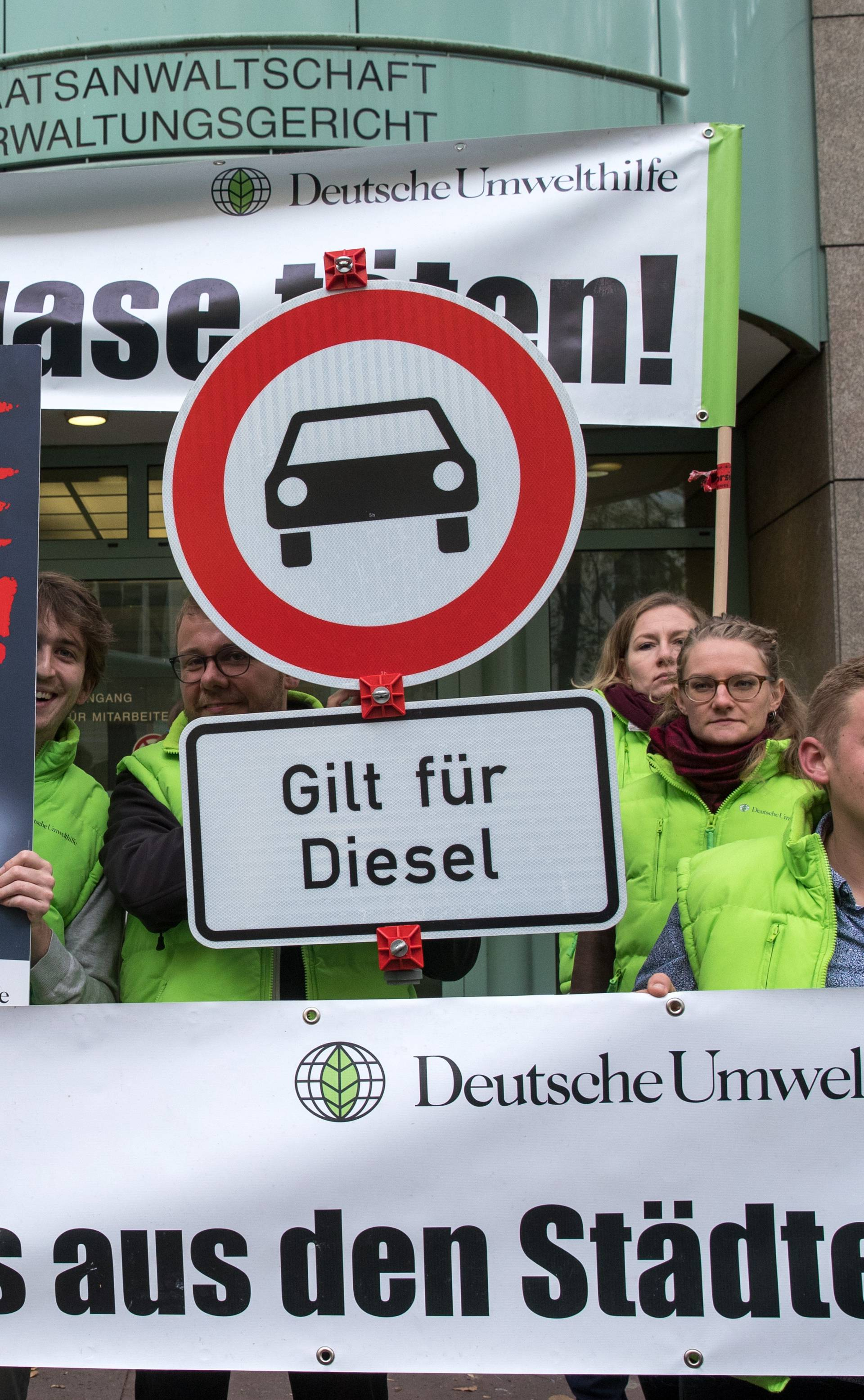 Administrative court decides on diesel driving ban