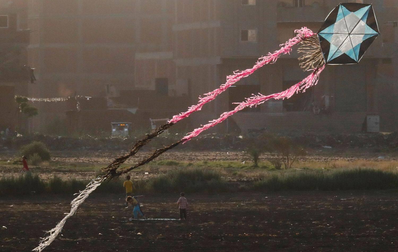 Igra zmajevima iznad Egipta: Sami ih izrađuju pa trče s njima po polju dok čuvaju stado ovaca