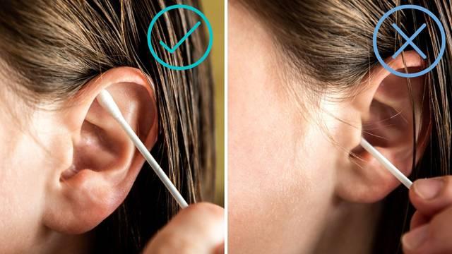 Naši liječnici: Uši je dovoljno čistiti vodom dok peremo kosu, nikako štapićem u dubinu uha