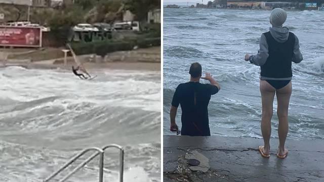 Dok jugo lomi Split, oni lome valove: 'Ovdi je to normalno'