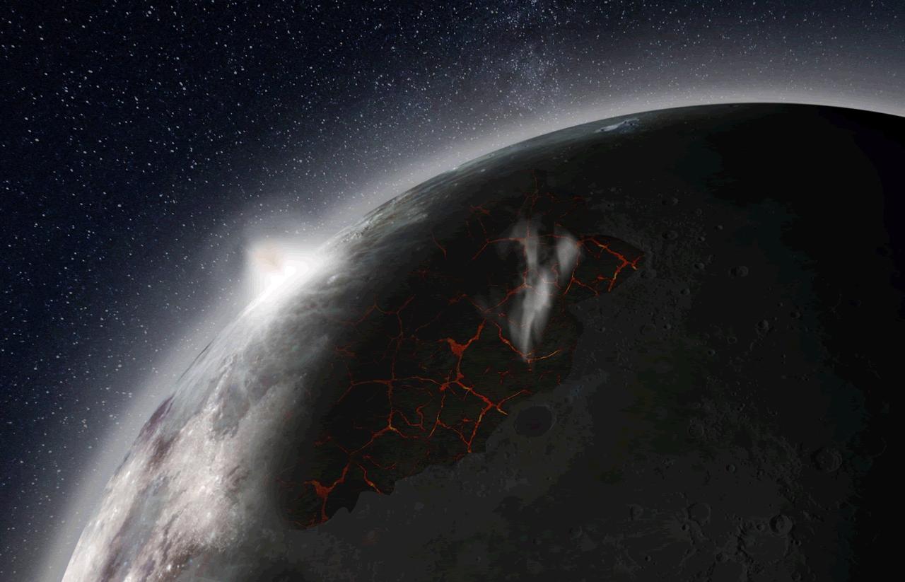 Mjesec nije uvijek bio 'mrtva' kugla: Imao je svoju atmosferu