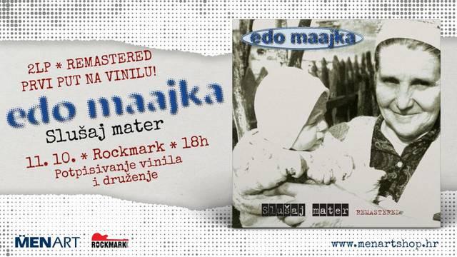 Edo Maajka predstavlja album Slušaj mater na LP izdanju