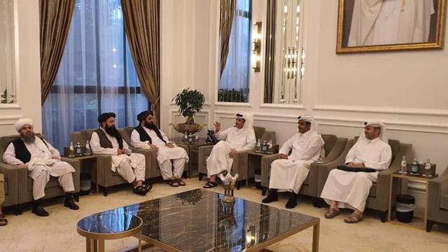 Taliban delegates meet with Qatar delegates in Doha