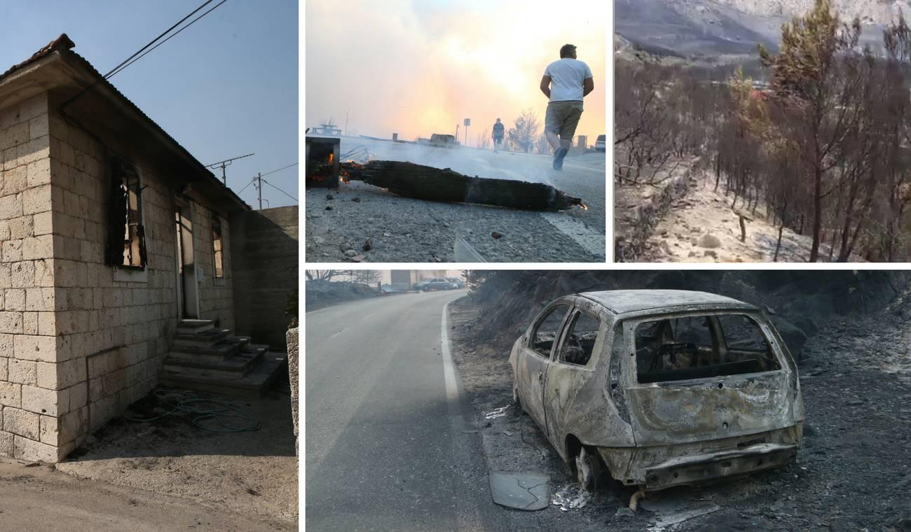 Spaljena zemlja: Ovako danas izgleda opožarena Dalmacija
