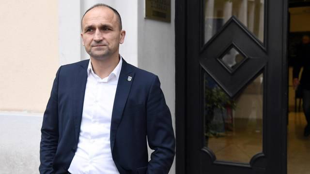 Zagreb: Odlazak članova HDZ-a nakon održane sjednice Predsjedništva