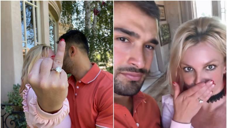 Britney Spears se zaručila, na ruci joj blista ogroman prsten