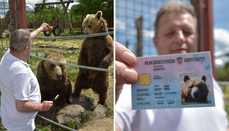 Macolina velika fešta: Svojim medvjedima izvadio osobne