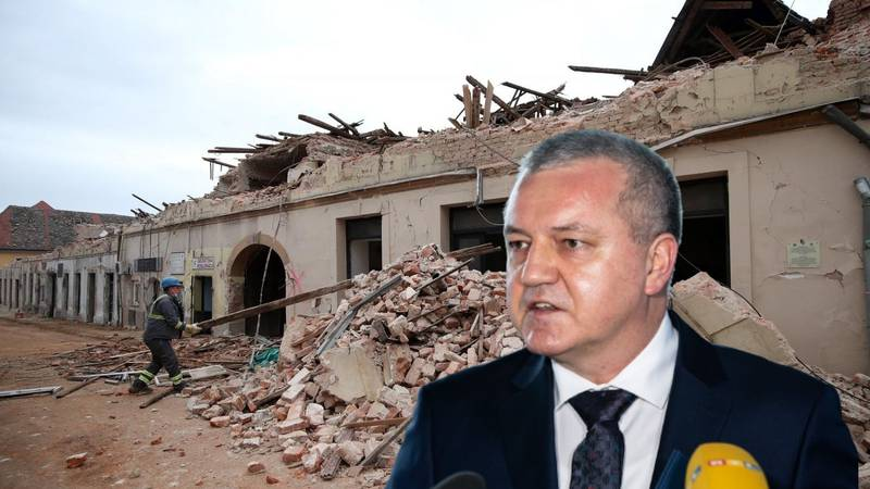 Horvat najavio da će uz Sisak i za druge pogođene krajeve sa 100 posto financirati obnovu