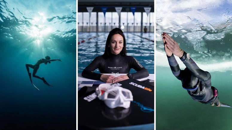 'Oborila sam Guinnessov rekord u ronjenju u zaleđenom jezeru, a ronila sam čak i na Himalaji'
