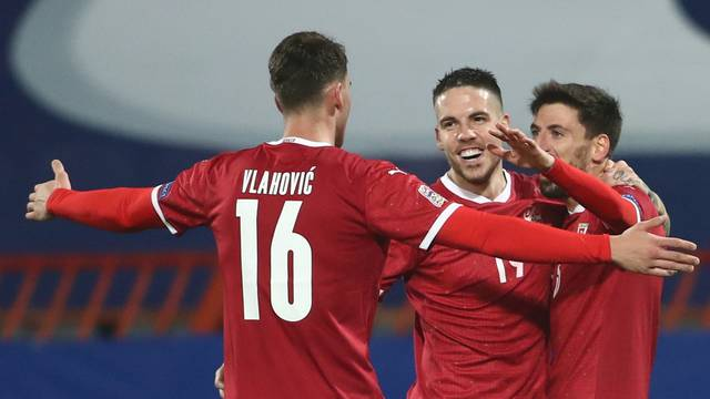 UEFA Nations League - League B - Group 3 - Serbia v Russia