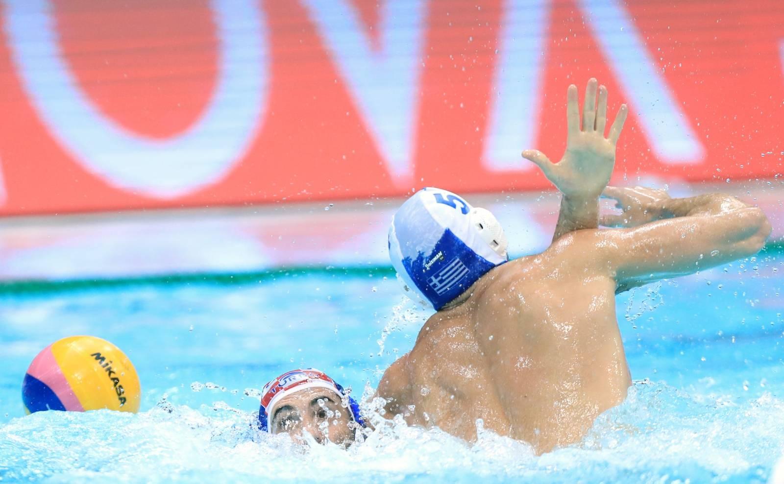 Zagreb: LEN Europa kup, četvrtfinale, Hrvatska - Grčka